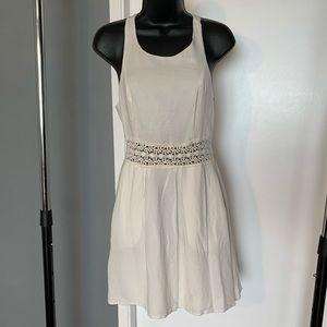 like new Urban Outf white crochet dress (6/$14)